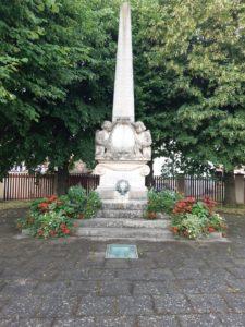 Monument aux Morts remis en état